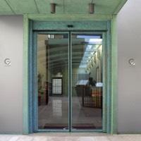 Porta Automatica Rototraslante Antipanico Faac